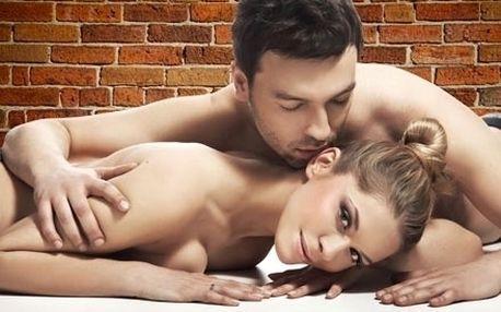 Vánoční romantická masáž pro 2 za svitu svíček a t...