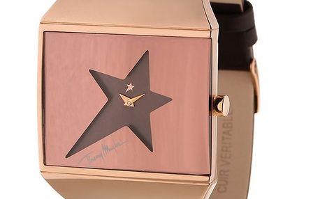 Dámské hodinky s ciferníkem ve tvaru hvězdy Thierry Mugler