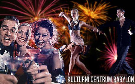 Vstupenka na GALA SILVESTR 2013 za 299 Kč! Večer plný tance, hudby a zábavy!