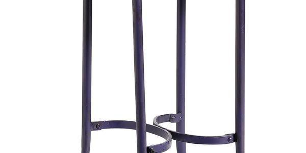 Stolička, tmavě fialová