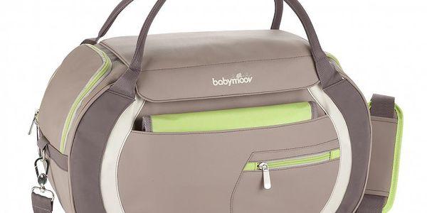 Babymoov prostorná přebalovací taška SPORT STYLE s velkým vstupním otvorem