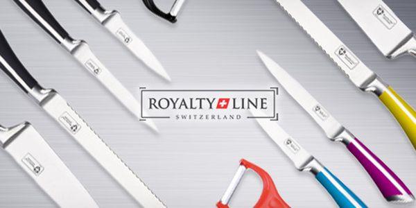 Ostré švýcarské nože z nerez oceli: 4dílná sada, výběr ze 3 barevných variant