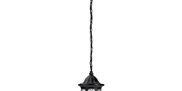 Venkovní závěsné svítidlo Rabalux Milano černá 8344