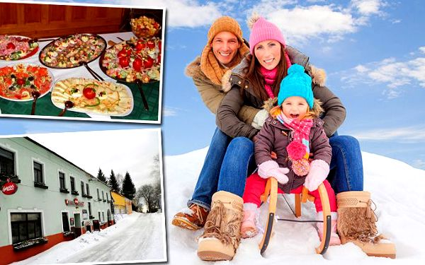 3denní pobyt v hotelu Hojná Voda v Novohradských horách pro 2 osoby se snídaněmi