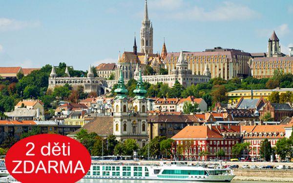 Pobyt pro DVA na 3 a více dní v centru Budapešti