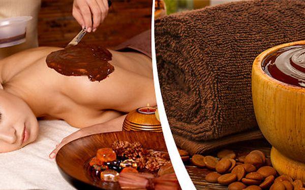 120minutová luxusní čokoládová masáž