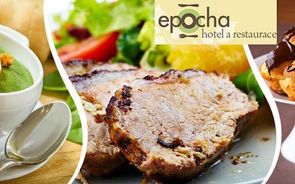 Špičková degustační menu v Restauraci Epocha