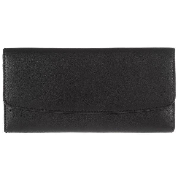 Dámské kožená peněženka Imogen Black Leather Purse