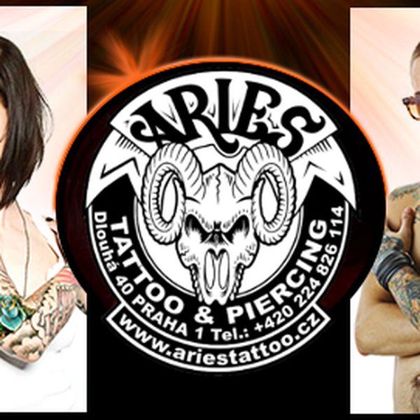 Tetování za 1199 Kč! Vyhlášený salon v centru Prahy!
