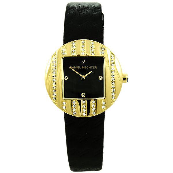 Dámské hodinky se čtvercovým ciferníkem Daniel Hechter