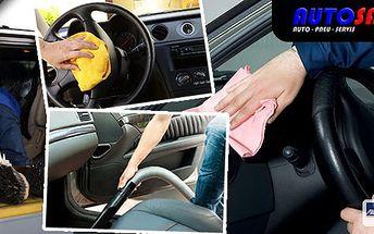 Čištění interiéru auta, tepování koberečků, kompletní vysátí, ošetření plastů včetně palubní desky.Navíc dárek. Prostor vašeho vozu jako nový!
