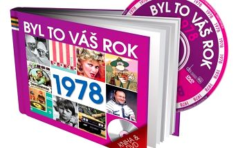Byl to váš rok 1978 - DVD kniha - originální dárek