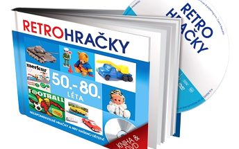 Retro Hračky 50.-80. léta, DVD a kniha - originální dárek