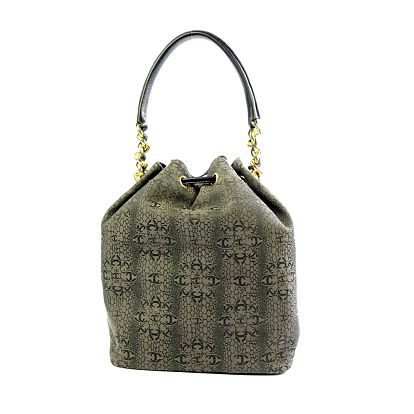 Dámská šedá vzorovaná kabelka Just Cavalli
