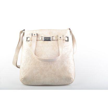 Dámská béžová kabelka přes rameno Versace