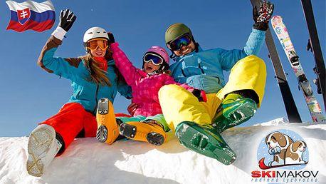 Celodenní Skipass pro 1 osobu v Ski Makov