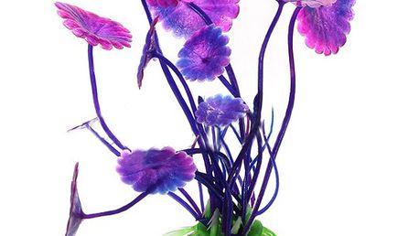 Dekorace do akvária - květina a poštovné ZDARMA! - 506884