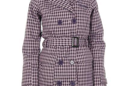 Dámský fialově kostkovaný funkční kabátek Bench