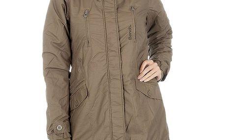 Dámský khaki kabát Bench