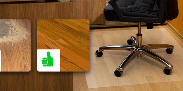 Ochranná podložka pod židli: chrání podlahu před opotřebením a poškrábáním!