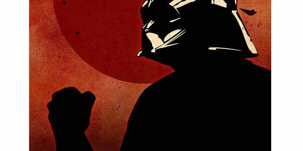 Cedule Vader, 56x45 cm