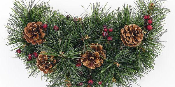 Dekorativní vánoční ozdoba měsíc