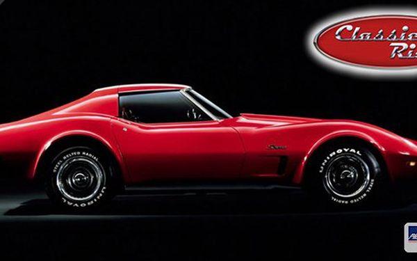 Poznejte sílu 400 koní klasického amerického dravce - Corvette Stingray! 15 či 30 minut za volantem legendárního amerického sporťáku! Splňte si sen v super voze, který znáte z hollywoodských trháků!