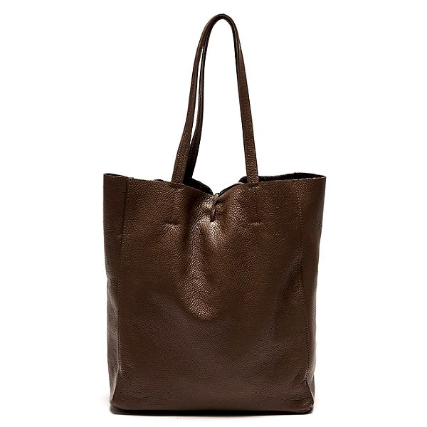Dámská hnědá kabelka s vnitřní kapsičkou Luisa Vannini