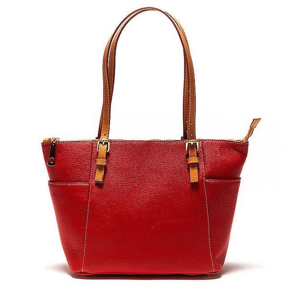 Dámská červená kabelka Luisa Vannini