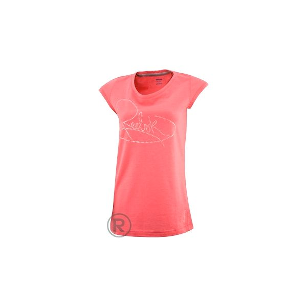 Dámské tričko - Reebok SCRIPT TEE růžová