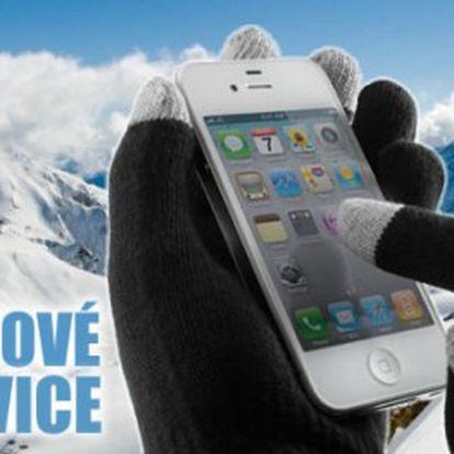Úžásné rukavice pro dotykové displeje jen za 99 Kč. Super tip na dárek, který vás zahřeje a dokonce s ním budete ovládat telefon a další vaše přístroje.