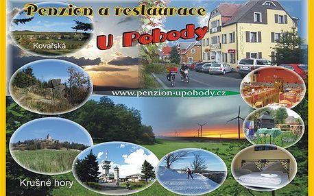 3 dny Penzion U Pohody + slevy už za 1990 Kč!