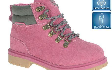 Dětské růžové kotníkové farmářky Beppi