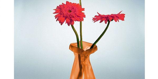Váza Le Sack, oranžová