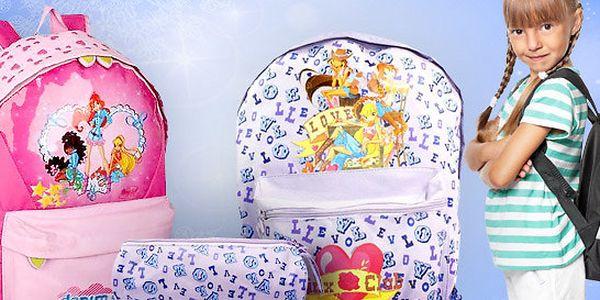 Dívčí batohy a penál Winx