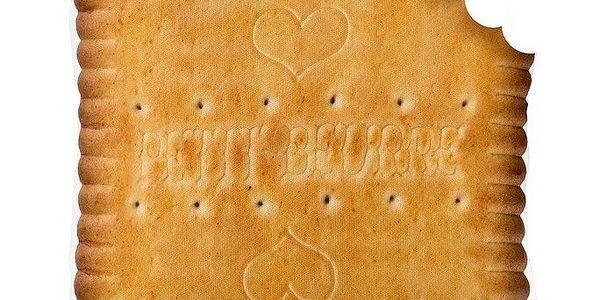 Polštář Petit Beurre Crunched, 40x40 cm