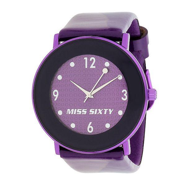Dámské fialové hodinky Miss Sixty