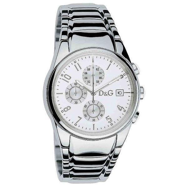 Pánské hodinky z nerezové oceli Dolce & Gabbana