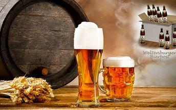 Kolekce piv a originální sklenice – sleva 51 %