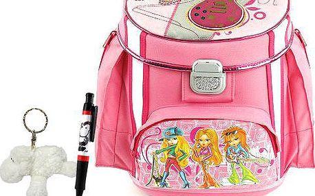 Školní aktovka Cool bambi set kuličkové pero a plyšová klíčenka s motivem Sheepworld