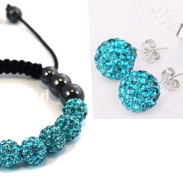 Shamballa set – elegantní šperky s 56% slevou