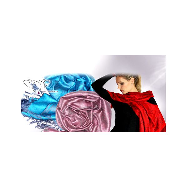 Elegantní PAŠMÍNA o ROZMĚRECH 180×75 cm za extrémně nízkou cenu 149 Kč! Vyberte si z několika překrásných barevných provedení! Osobní odběr ZDARMA v Praze!