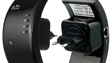 Mini WiFi repeater do zásuvky a poštovné ZDARMA! - 906917