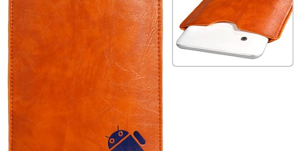 Ochranné kožené pouzdro pro 7″ tablet - hnědá barva a poštovné ZDARMA! - 606962