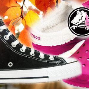 50% sleva na Converse a Crocs obuv! Vánoční výprodej právě začíná!