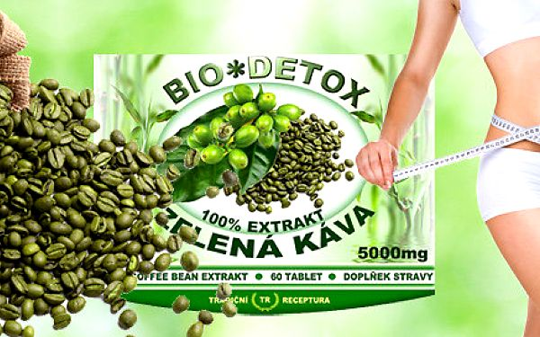 Green Coffee Bean – účinné tablety na hubnutí