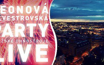 Neonová silvestrovská party na Žižkovské věži!