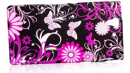 Ochranný zadní kryt s motýlky pro Sony Xperia Z a poštovné ZDARMA! - 506979