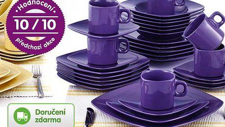 30dílná sada keramického nádobí – 2 barvy