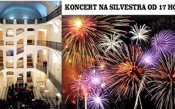 Parádní koncert na SILVESTRA od 17 hodin - Veselé hudební kousky v unikátním prostředí